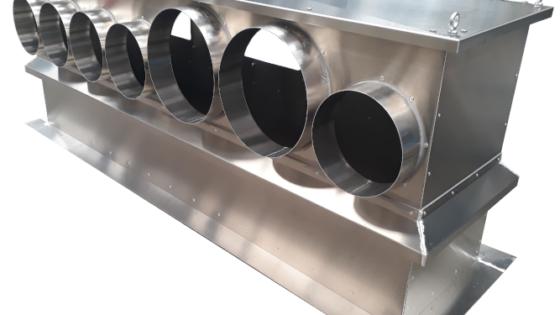 Sortie de toiture aluminium