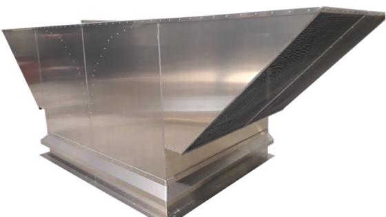 Sortie de toiture en aluminium